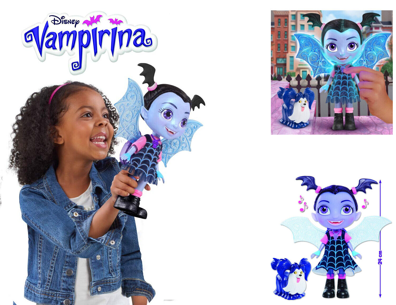 Vampirina  Bambola Grande Doll con Funzioni Luci e Suoni Altezza cm 24