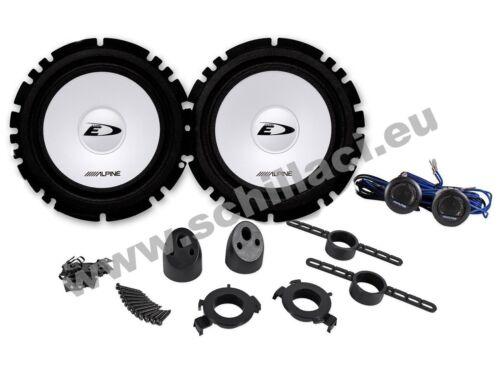 kit 6 altavoces Alpine para  FIAT Stilo 3 puertas