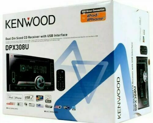 Kenwood DPX-308u CD Player In Dash Receiver for sale online | eBay on