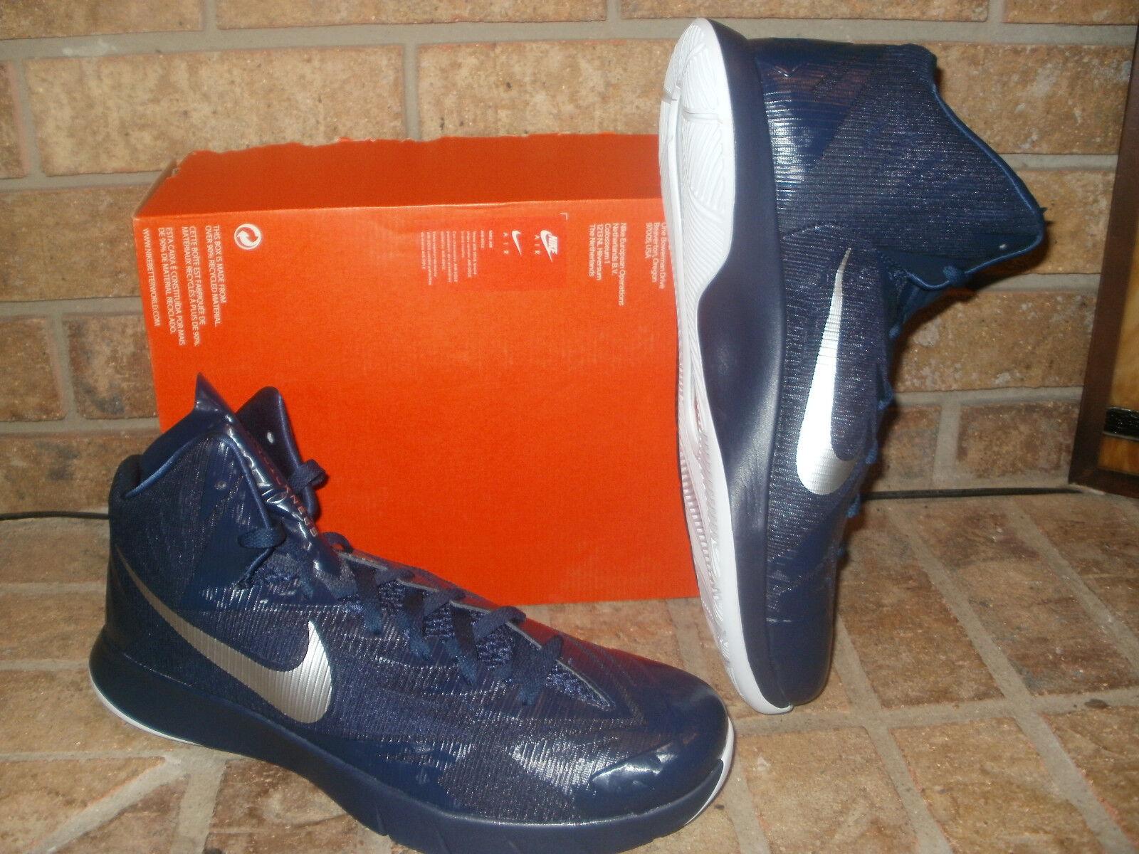 newest fbe99 1d49c Nueva Nike Lunar hyperquickness hyperquickness hyperquickness TB zapatilla  de baloncesto   685778-402 Navy Blanco