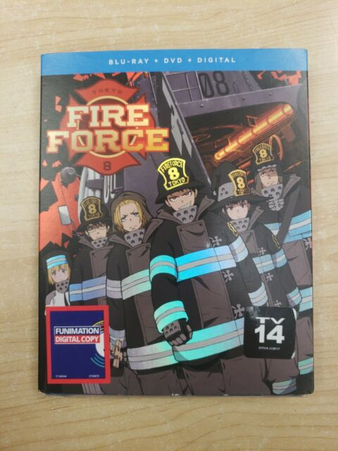 Fire Force Season One Part One (Blu-ray+DVD + Digital ...