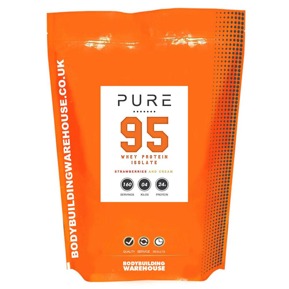 2KG PURE WHEY PROTEIN ISOLATE POWDER SHAKE - 95% PROTEIN CONTENT (Vanilla)