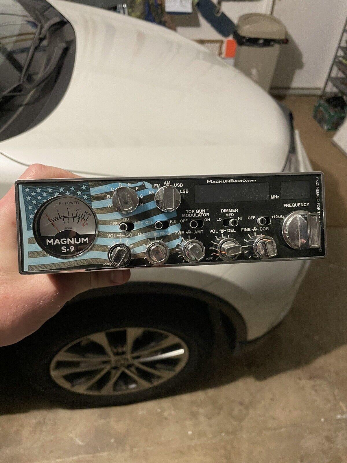 magnum s9 radio. Buy it now for 800.00