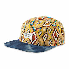 "DJINNS - 5 Panel Flat Cap ""Pattern #1"" (domesto indian)"