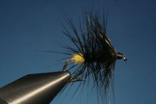 Fliegentom 3 Stück Trockenfliege Willow Fly Weidenfliege Horrocks