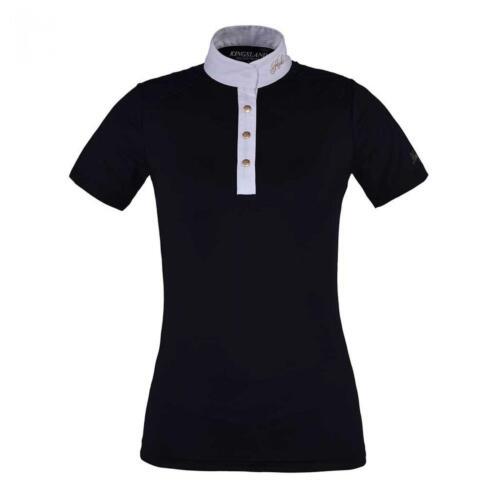 Kingsland Oliva Ladies Short Sleeve Show Shirt navy S19