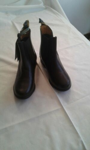 Moretta size 2  Black Jodphur boots new with box