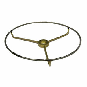 """16"""" Top BRASS-PLATED spider to make lamp shades"""