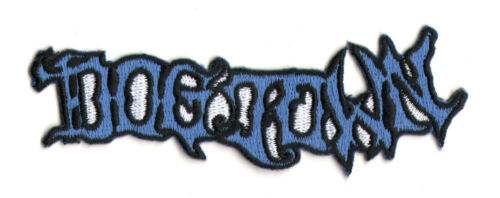 Dogtown Skateboards Embroidered Skateboard Patch Horror Script old school new