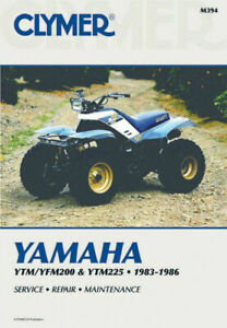 Yamaha-YTM200-YTM225-1983-1985-amp-YFM200-1985-1986-ATV-Service-Repair-Manual