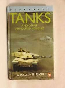Observers Tanks and Other Armoured Vehicles Charles Messenger Very Good Book - Dundee, United Kingdom - Observers Tanks and Other Armoured Vehicles Charles Messenger Very Good Book - Dundee, United Kingdom