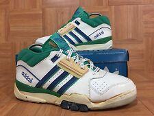 Vintage🔥 Adidas ASC 100 Original 1980's Tennis Shoes 9 VNTG Edberg Lendl Korea