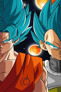 Dragon-Ball-Super-Poster-Goku-Vegeta-God-Blue-12inches-x-18inches-Free-Shipping