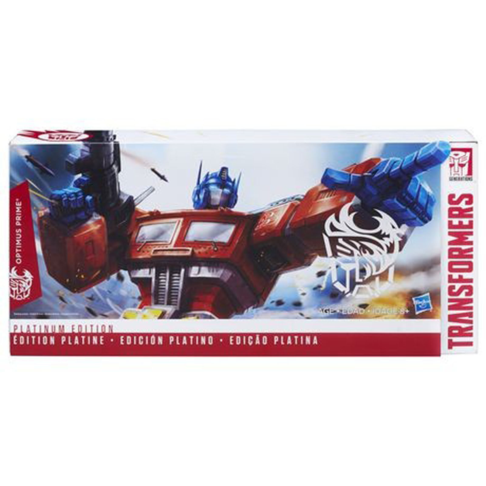 Transformers Platinum Edition Optimus Prime Year of the Rooster Action Figure