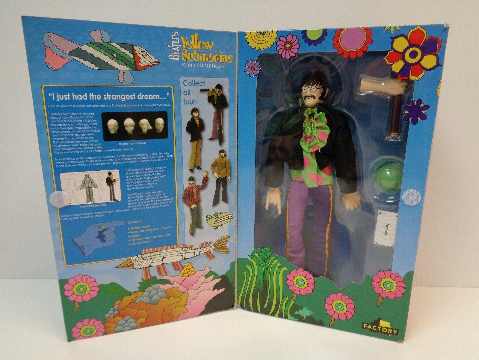 The Beatles-jaune Submarine John 1 6th scale figure-FACTORY ENTERTAINMENT