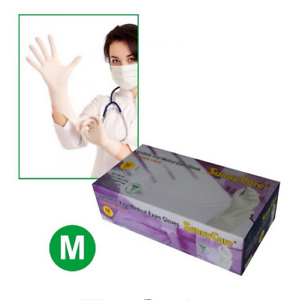 SunnyCare-7702-Powder-Free-Synthetic-Vinyl-Exam-Latex-Nitrile-Free-Gloves-M