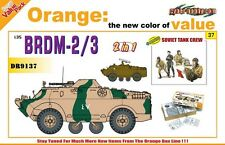 Dragon Cyber Hobby BRDM-2/3 plus bonus Soviet Tank Crew Model Kit 1:35 Scale