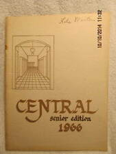 1966 Senior Yearbook Central High School Evansville IN Dan Howard's Final Season