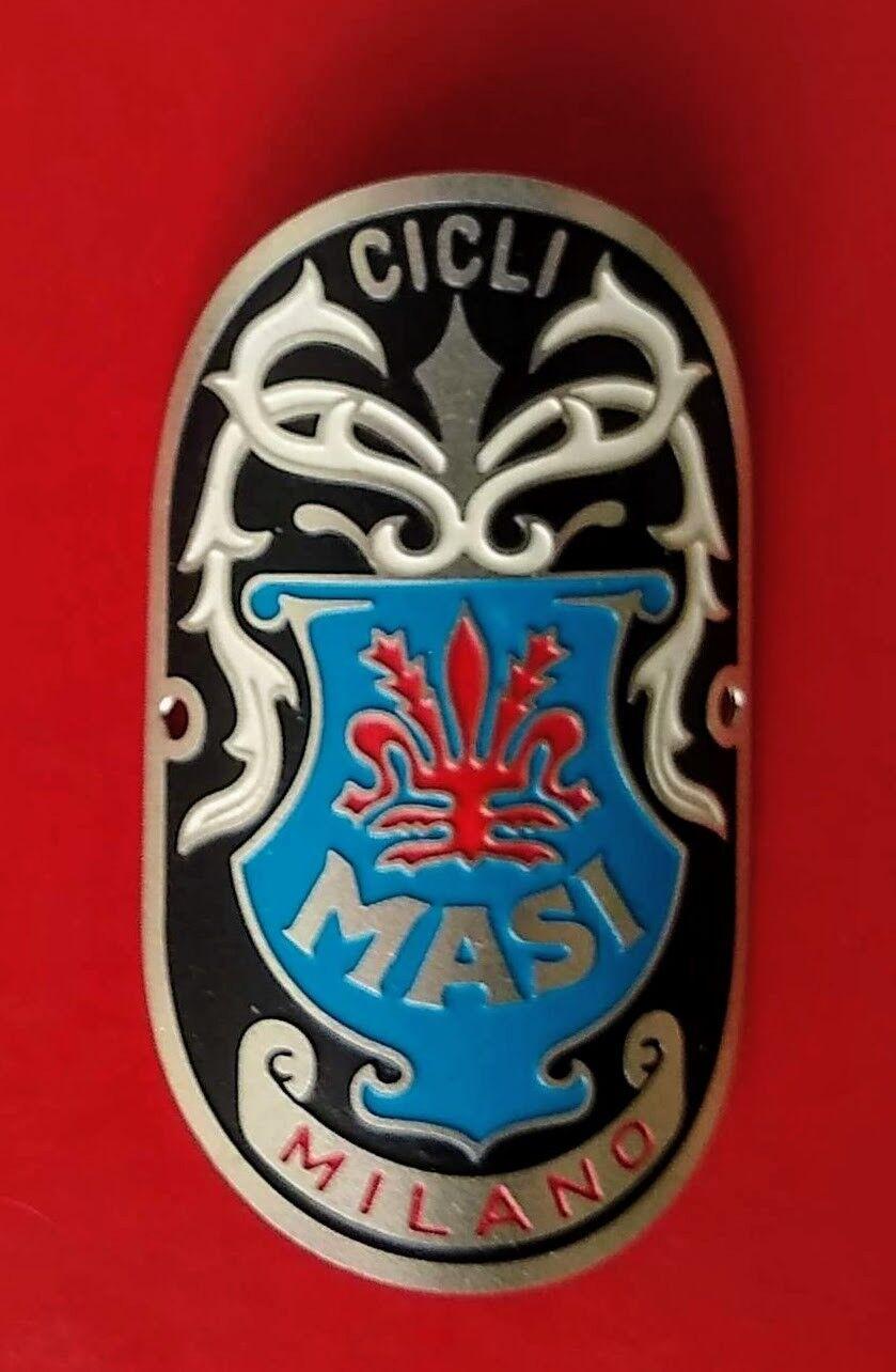 New Reproduction MASI SPECIAL  Milano Head Badge
