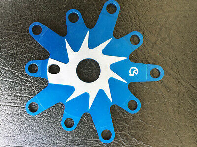 BLUE Spur Chain Tensioners Von Giese VG BMX Made in USA CNC Aluminum