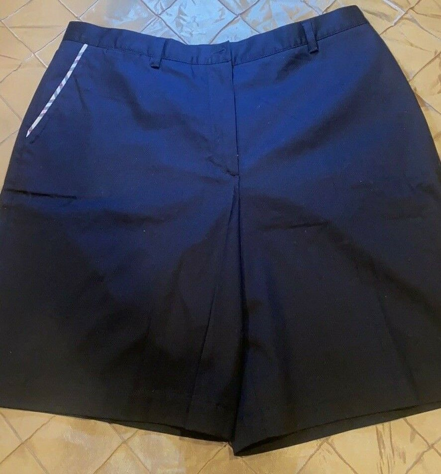BURBERRY GOLF FABULOUS SHORTS TAILORED BLACKWITH … - image 1