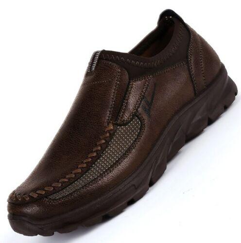 mocassins de chaussures conduite pour hommes antidérapants de Mocassins respirant cuir en sport qa4IzZw