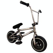 WILDCAT Originali Mini BMX Raw in metallo piccolo Bici Bambini Adulti Ragazzi Ragazze Stunt