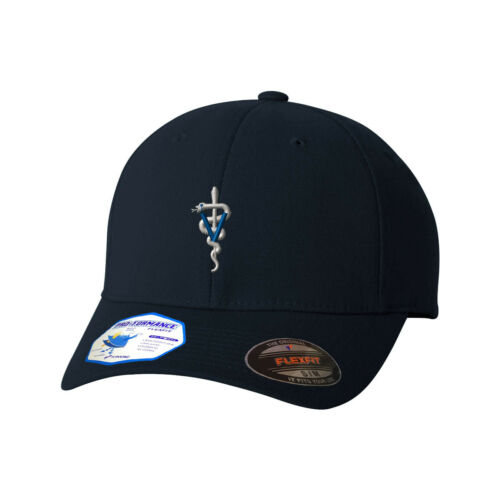 Snake Veterinarian Flexfit® Pro-Formance® Embroidered Cap Hat