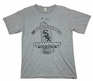Chicago-White-Sox-2005-World-Series-Champions-Lee-Sport-Mens-T-Shirt-Black-M