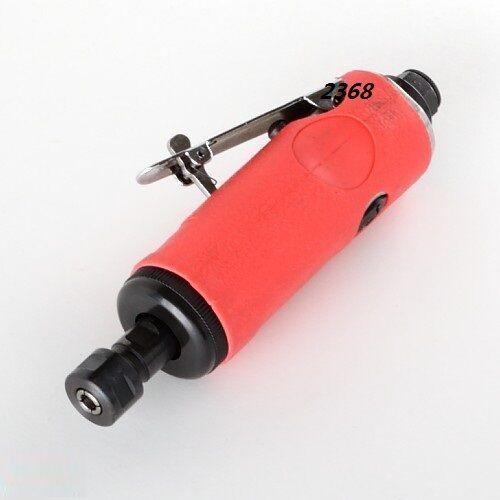 07275 wwu2368 New 1/4 Air Die Grinder 8pc Kit Pneumatic Straight Mini Polisher Cutter Rotary