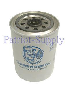 Generalaire 2605 Model R Gar-Ber Epoxy Spin-On Oil Filter Cartridge