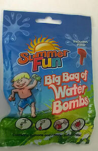 300-x-WATER-BOMBS-BALLOONS-PERFECT-SUMMER-FUN-INCLUDES-WATER-FILLER