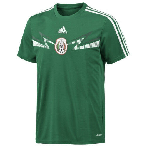 Adidas climalite mens  mexico home replica top t-shirt soccer world cup xl  discount promotions