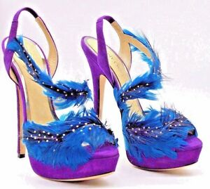 4cc36f319e9 Image is loading Jimmy-Choo-Limited-Edition-Shoes-Multi-Colored-Size-