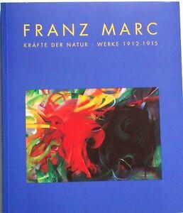 Katalog-Franz-Marc-Werke-1912-1915-Gemaelde-Tiere-Bilder-Verzeichnis-der-Werke