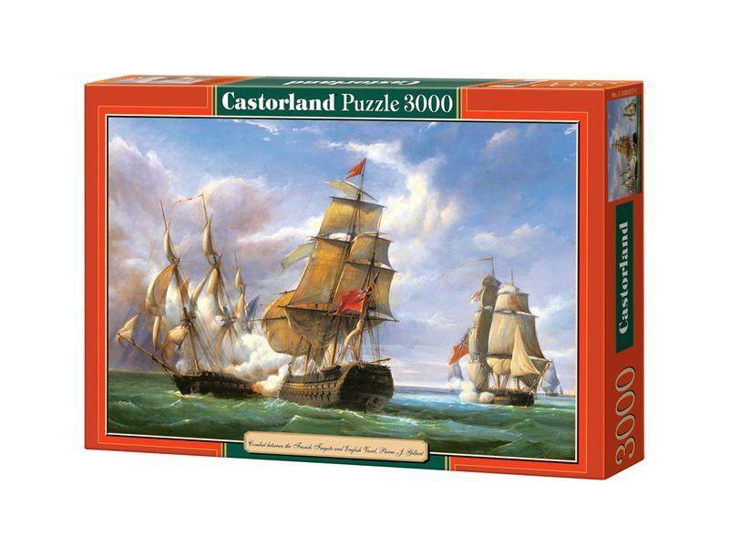 Castorland Puzzle 3000 Pieces - Combat - 92 x x x 68 cm 36 x27  Sealed box C-300037 3f6be9