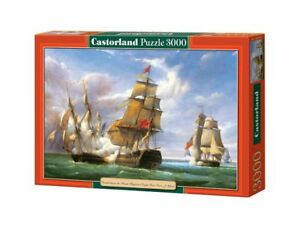 "Castorland Puzzle 3000 Pieces - Combat - 92 x 68 cm 36""x27"" Sealed box C-300037"