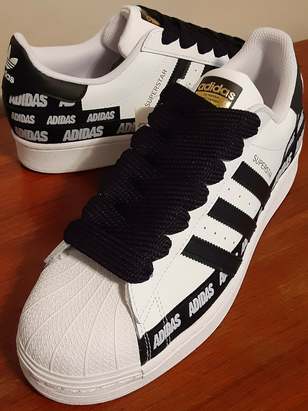 Adidas Superstar Sneakers/Shoes Shell Toe Mens Size 10.5 New With Box And Tags.  on eBay thumbnail