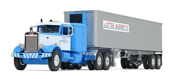 60-0493 - 1st Gear DCP Little Audrey's - Peterbilt 351 with Refer Van