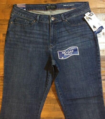 Lee Nwt medio Donna Petite 83622022865 16 Bootcut Jeans Curvy Leg lavaggio Stretch Fit P r6WqCp7wrx
