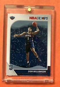 Zion-Williamson-PANINI-NBA-HOOPS-WINTER-2019-20-HOT-ROOKIE-CARD-RC-258-Mint