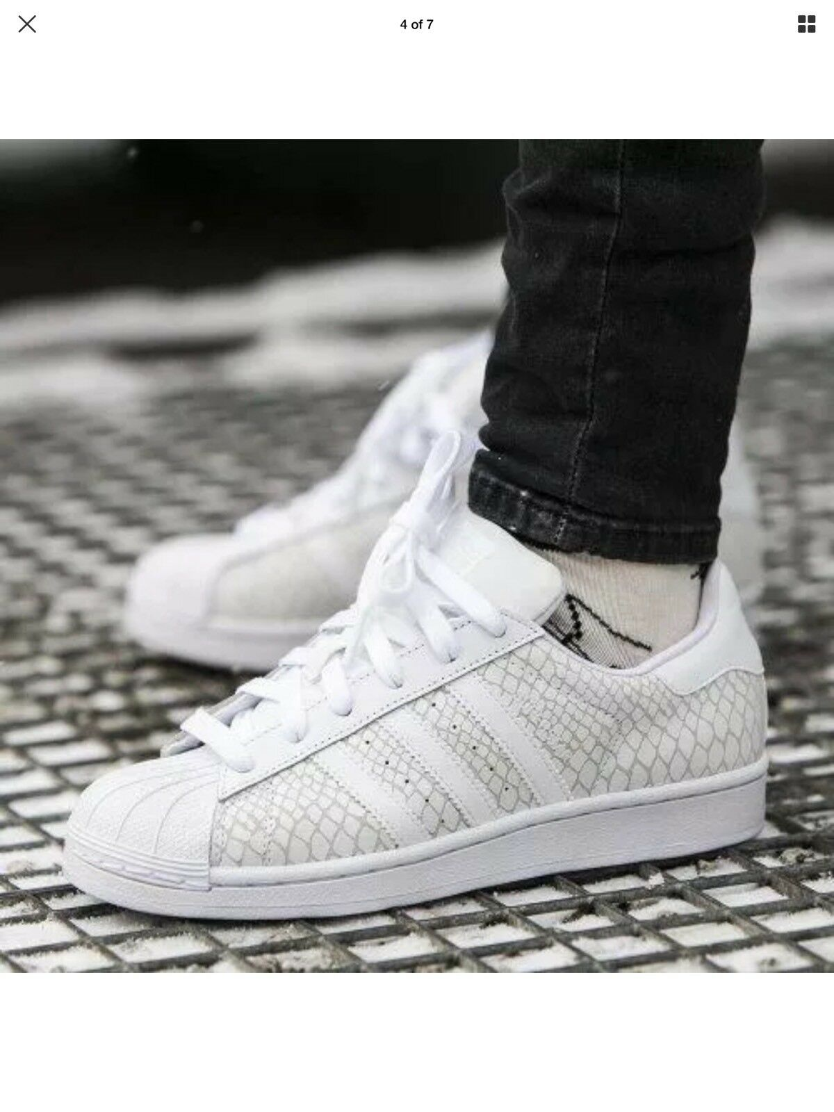 new style c6c6e bcabb ... ADIDAS ADIDAS ADIDAS SUPERSTAR S75127 ATHLETIC WOMEN S SHOES WHITE  ff4534 ...