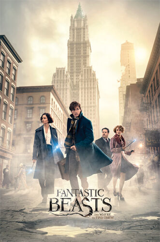 PP34026-572 61cm x 91.5cm New York Streets Fantastic Beasts Maxi Poster