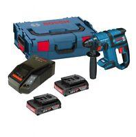 Bosch 18v GBH 18V-EC SDS Rotary Hammer Drill 2 x 2.0ah Batteries, Charger + LBOX