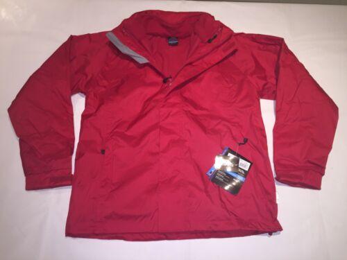 Red S-XXXL. New Mens Trespass Patterson Windproof//Waterproof 3-in-1 Jacket