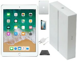 Apple iPad 5 Silver, Wi-Fi Only, 32GB, 9.7-inch, and Bundle (3RD LATEST VERSION)
