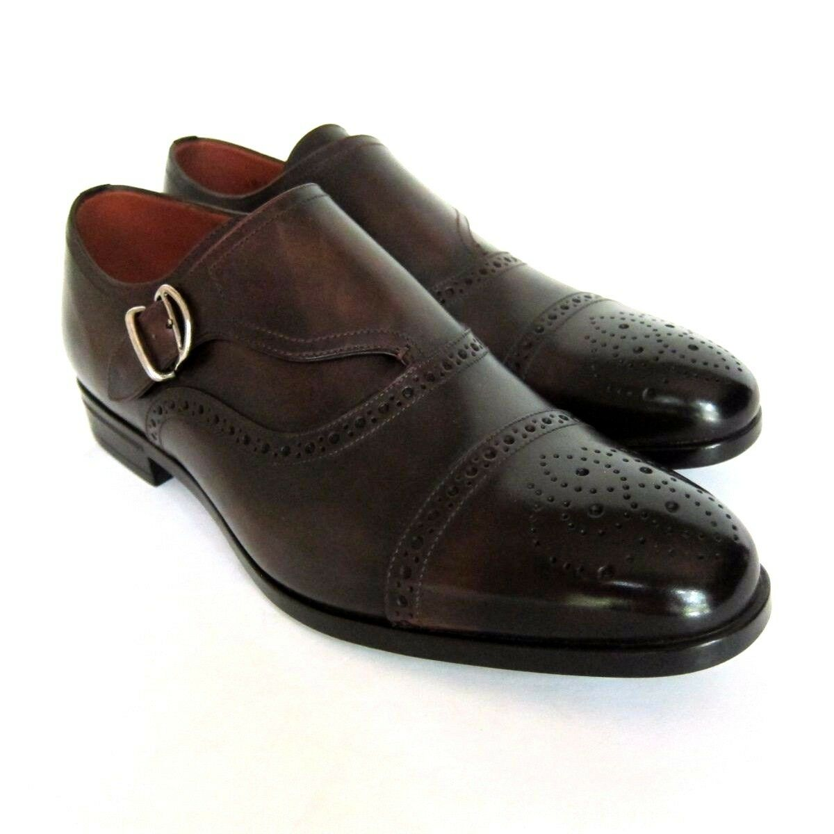 S-1900140 New Bally Lanor Brown Washed Loafers shoes Size US 8.5D Marked 7.5E