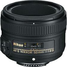 NEW Nikon 50mm f/1.8G AF-S Nikkor Lens #2199