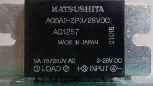 Matsushita AQ5A2-ZP3 SSRL Solid State Relays on PCB 16 AQ1257