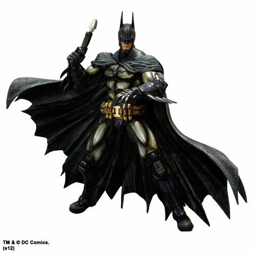 Batman Arkham Asylum Play Arts Kai Batman Armored Figure NEW from Japan